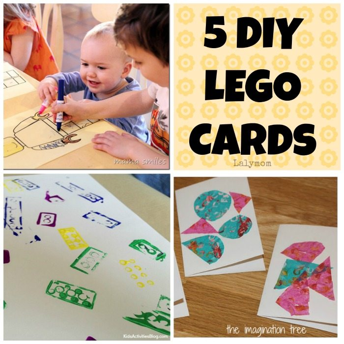 5 DIY LEGO Birthday Card Tutorials