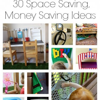 KID HACKS: 30 Space Savers for Kids Play + HUGE CASH GIVEAWAY