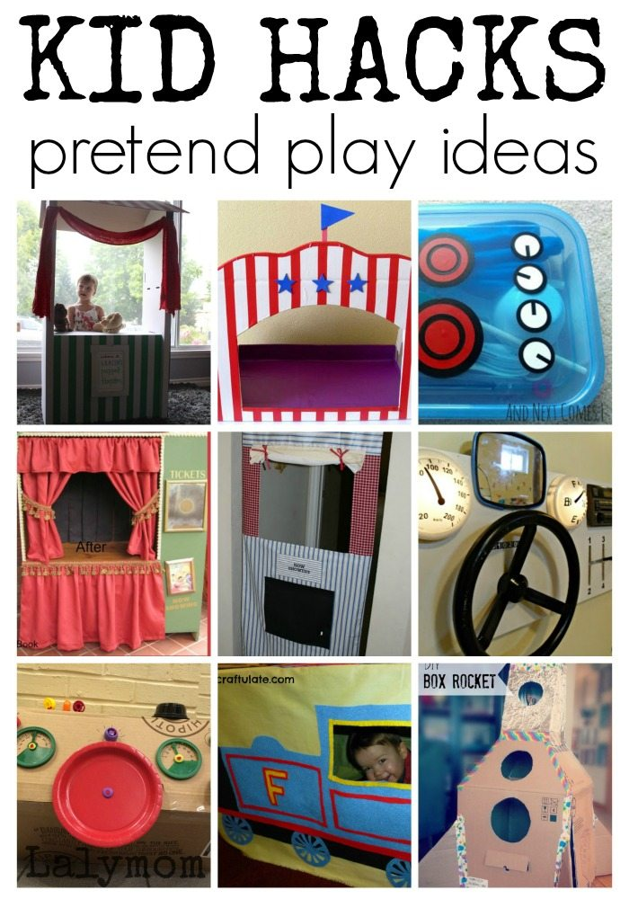 KID HACKS 30 ways to save space and money but still have fun! On Lalymom.com
