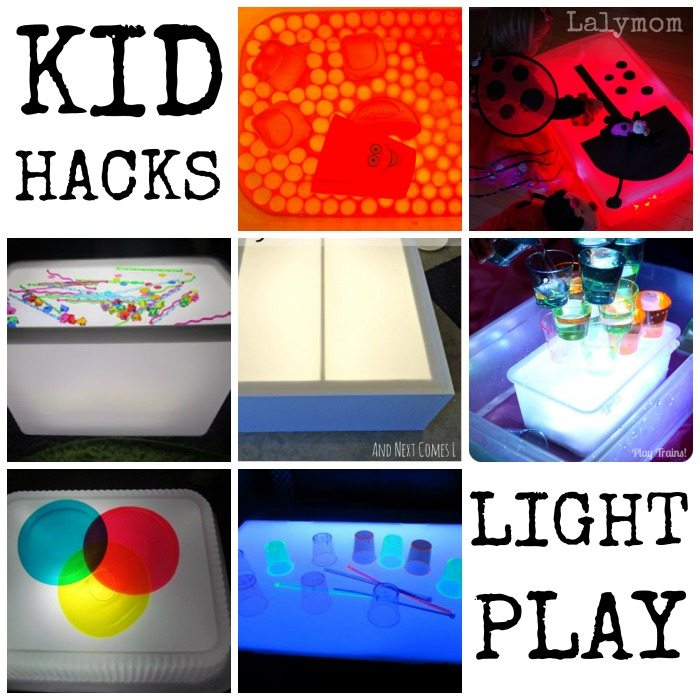Kid Hacks! 30 Ways to save money and space when you play on Lalymom.com