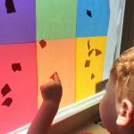 Simple Activity for Learning Colors for Toddlers on Lalymom.com. Great for color recognition, sorting and fine motor skills practice!