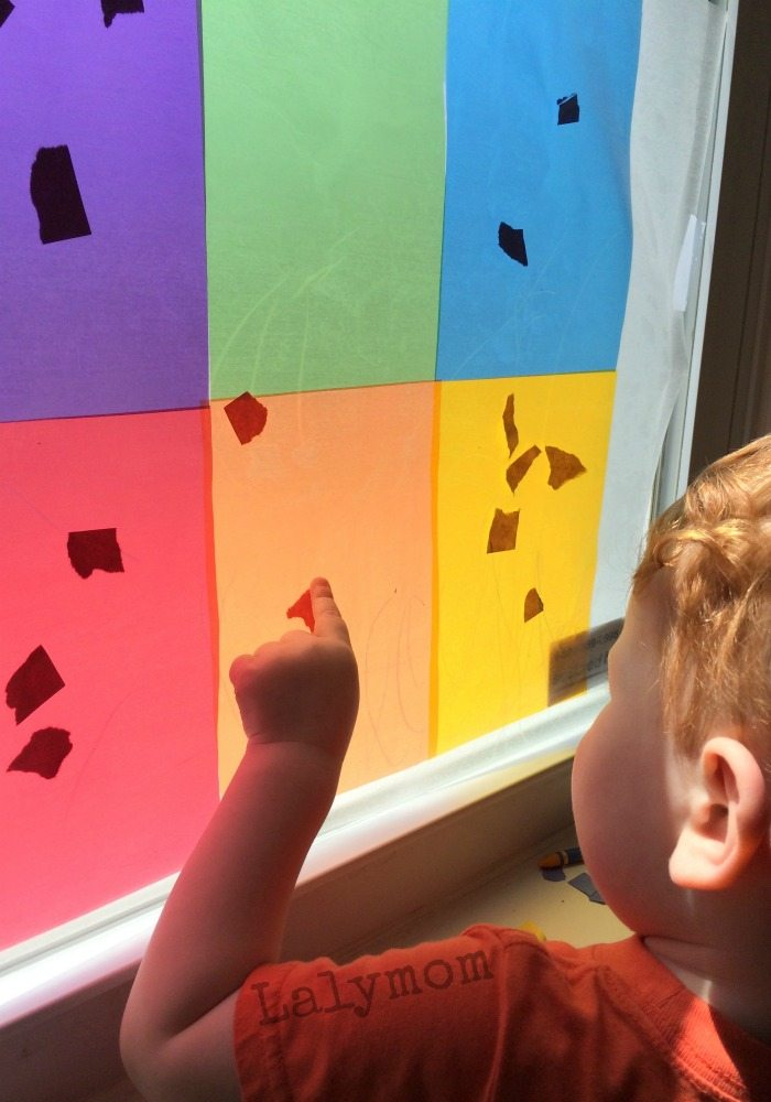 simple activity for learning colors for toddlers - Colour Activities For Toddlers