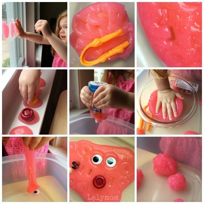 Slime Fine Motor Activities fro Preschoolers and Kindergarteners from Lalymom