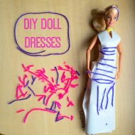Contact Paper Doll Dresses