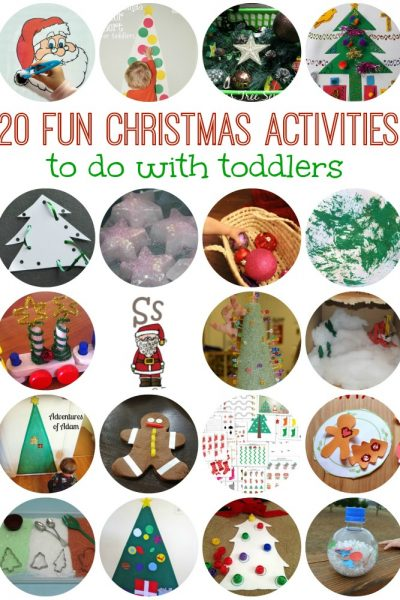 20 FUN Toddler Christmas Activities to Try Today