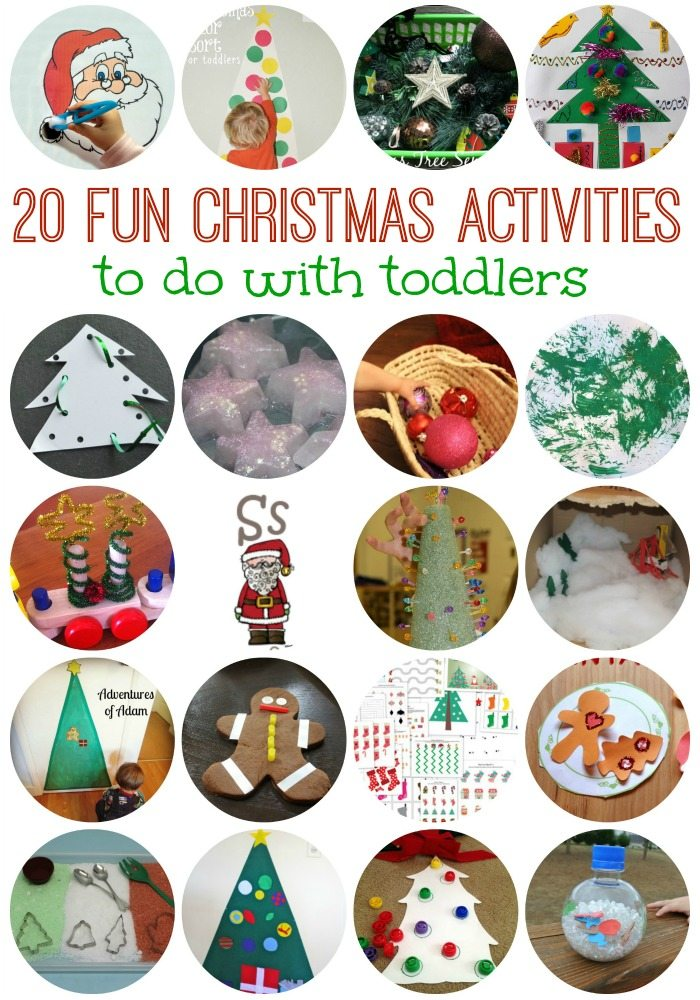 20 FUN Toddler Christmas Activities on Lalyom - I want to do some of these this year!