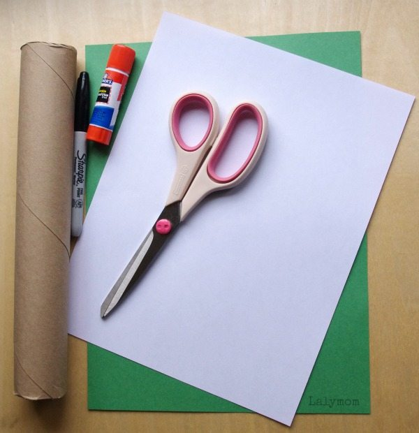 Cardboard Roll Craft from Lalymom.com Pop Goes the Weasel Pop-up Craft