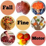 Great List of 40 Fall Themed Fine Motor Skills Activities for Toddlers and Preschoolers on Lalymom.com - love these ideas!
