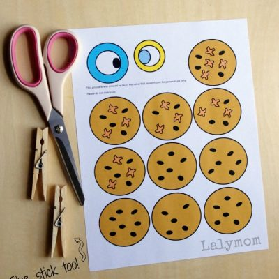 Preschool Printable Activity to go with The Duckling Gets a Cookie by Mo Willems on Lalymom.com