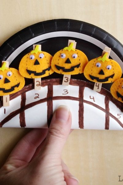 Counting Pumpkin Activities for Toddlers and Preschoolers