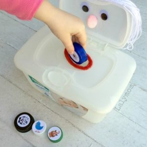 I Know an Old Lady Who Swallowed a Fly Fine Motor Activity with Printable