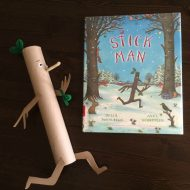 Recycled Stick Man Book Crafts for Kids