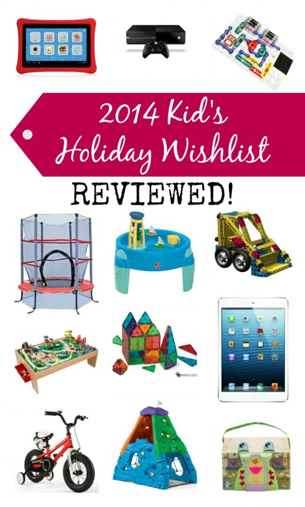 2014 Kid's Holiday Wish List Reviewed by MOMS!