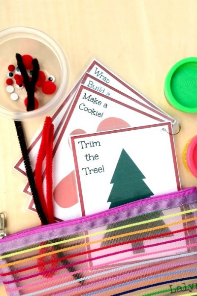 Christmas Activities for Kids – Printable Busy Bag Cards