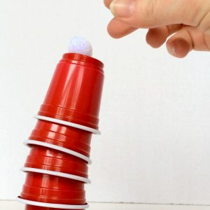 Christmas Games for Kids – Santa Hats Cup Stacking Game