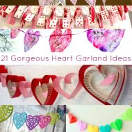 21 Heart Garland Ideas