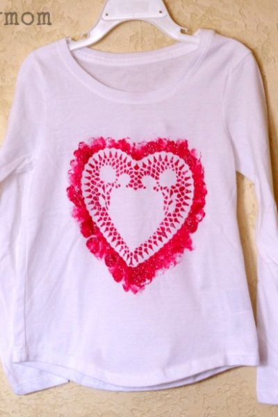 DIY Valentines Day Shirts for Kids