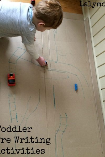 Fun Writing Activities for Toddlers & Preschoolers