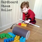 Cardboard Crafts – DIY Steamroller Toy