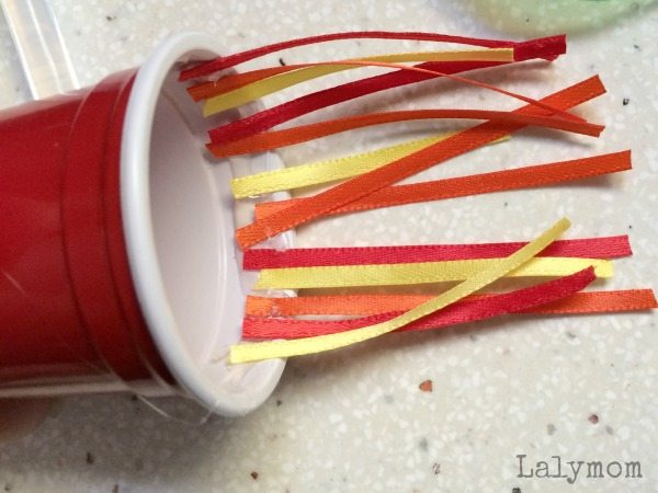 DIY Toy Tutorial - Launching Rocket Ship Cup Toy