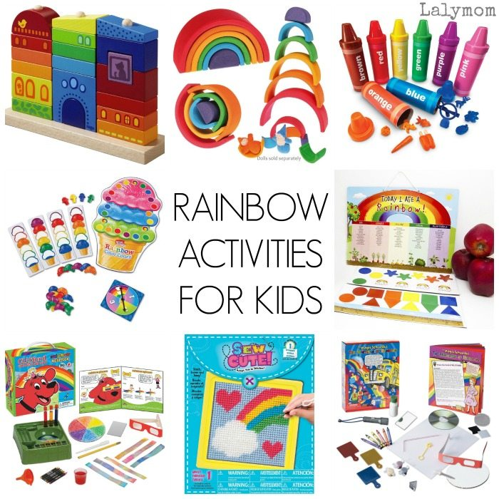 Fun Rainbow Activities and Gifts for Kids