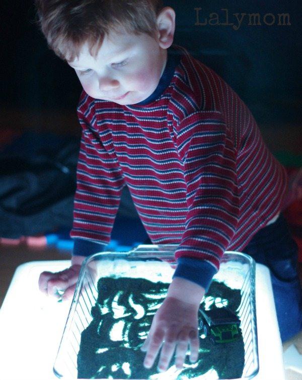 Light Box Sensory Activity