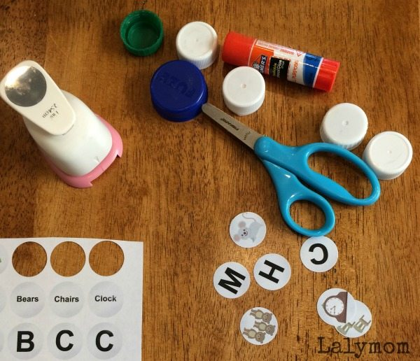 Margaret Wise Brown Book Activities in cluding a printable Fine Motor Alphabet Activity inspired by Goodnight Moon