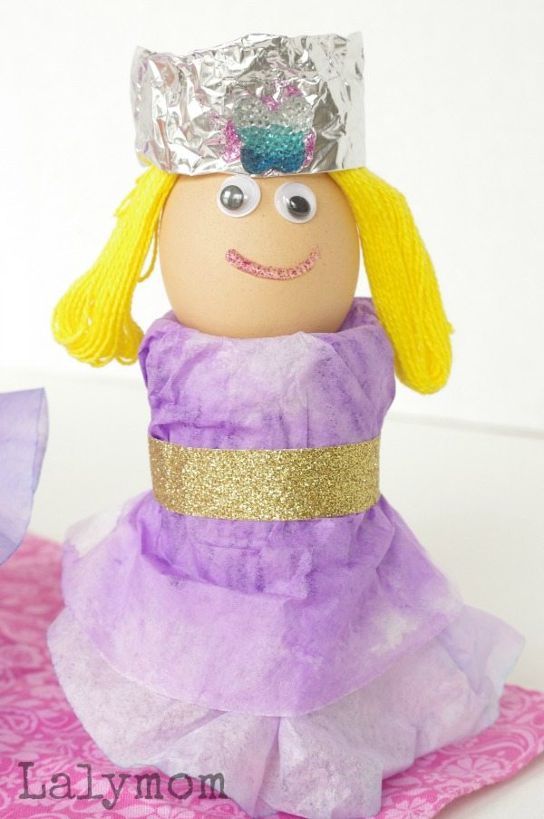 Princess Egg Cupe for Easter Eggs
