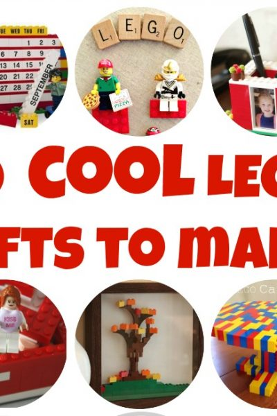 20 Cool LEGO Gifts to Build