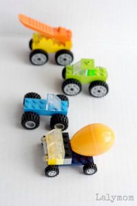 4 Super simple, super cool LEGO Truck ideas on Lalymom, from LEGO Week