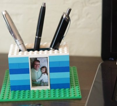 Rad DIY Pen Holder Kids Can Make with LEGO