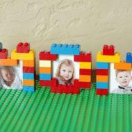 DIY LEGO Picture Frames