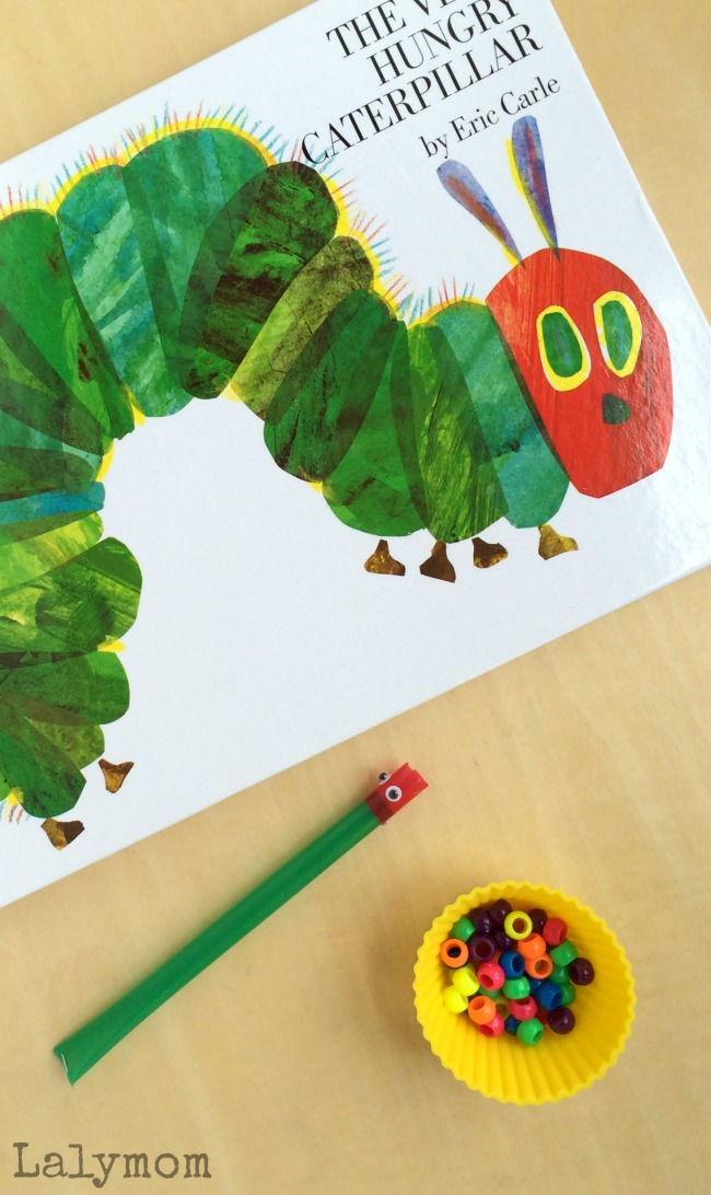 Eric Carle Book Activity to pair with the Very Hungry Caterpillar
