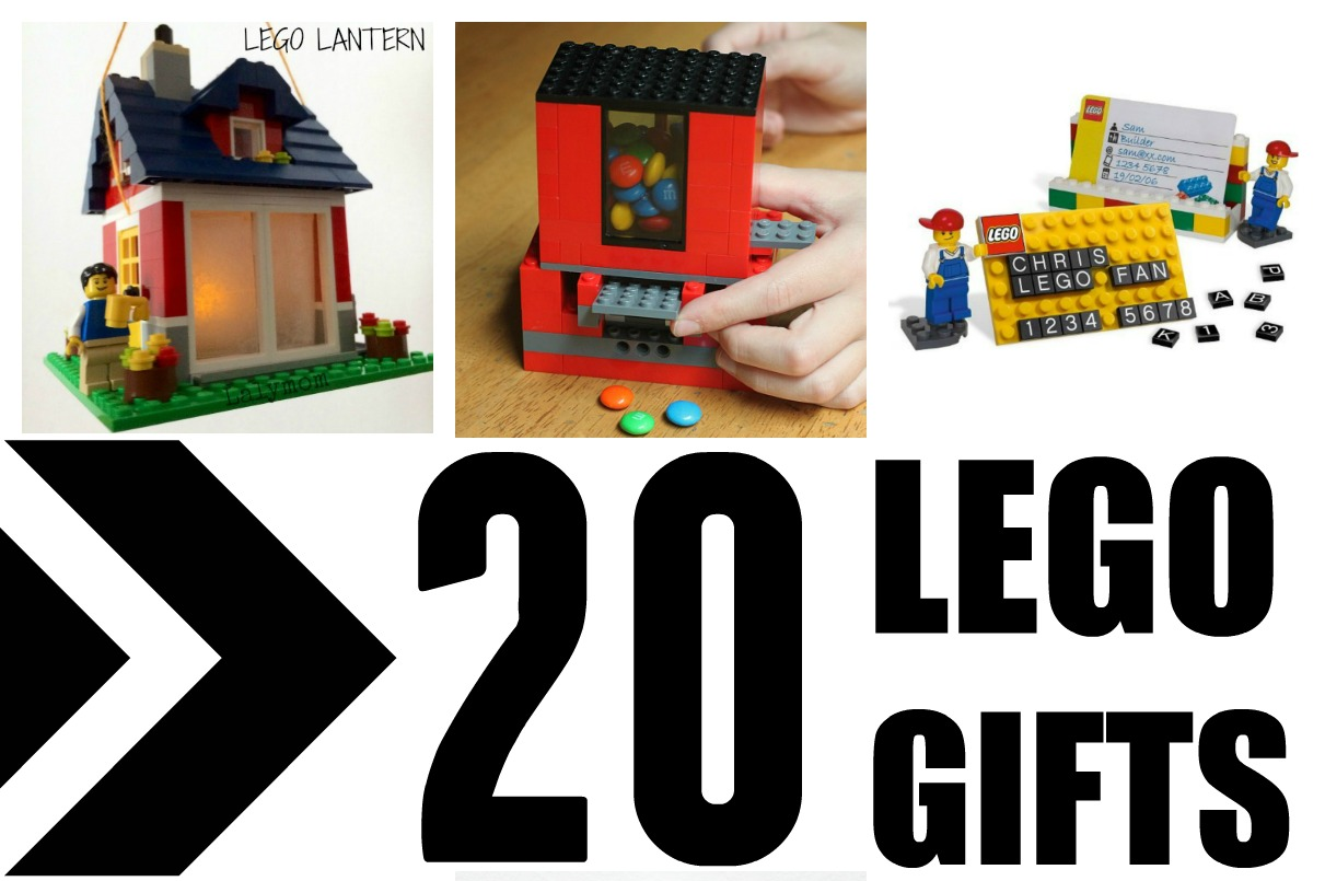 LEGO Week! 20 Cool LEGO Ideas - Great Gifts to make fore Mom, Dad, Kids- Anyone!