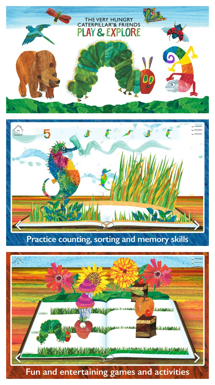 The Very Hungry Caterpillar & Friends Play & Explore App from the World of Eric Carle