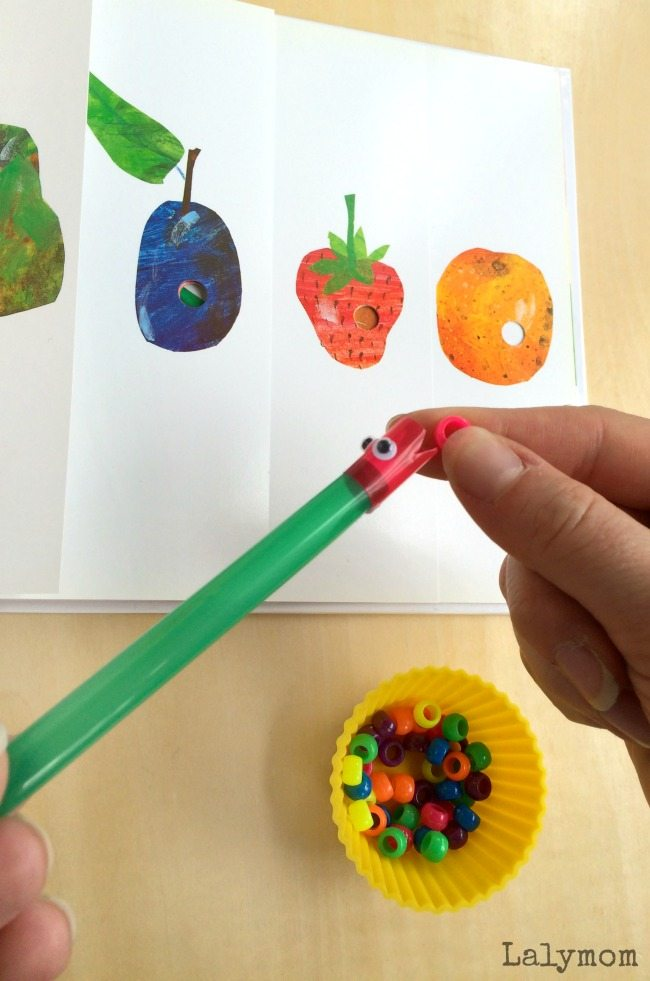 The Very Hungry Caterpillar Book Activity for Kids - Plus a review & giveaway of a new Eric Carle App! Perfect for Eric Carle Month!