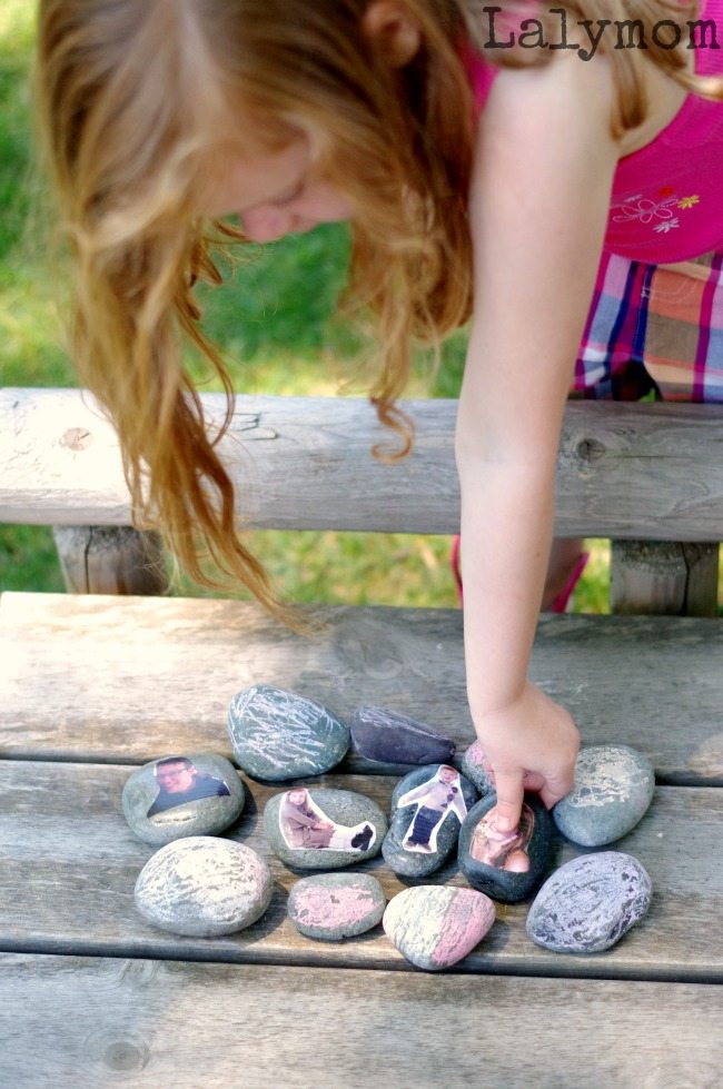 Classroom or Family Story Stones - Part of Craft Closet Boredom Busters Week on Lalymom