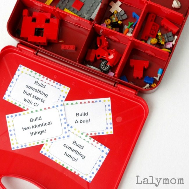 Free LEGO Printable Challenge Cards - Perfect to pack with your LEGO Juniors Suitcase!