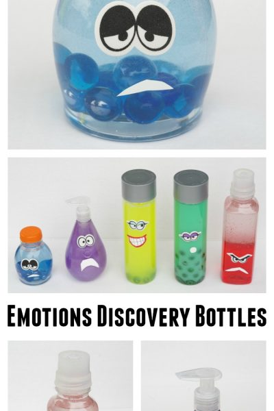Emotions Discovery Bottles Inspired By Disney's Inside Out