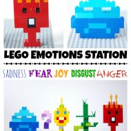 LEGO Emotions Station - Inspired by Inside Out and talking about our emotions.