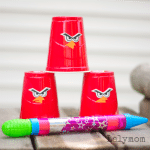 DIY Angry Birds Knock Down Game