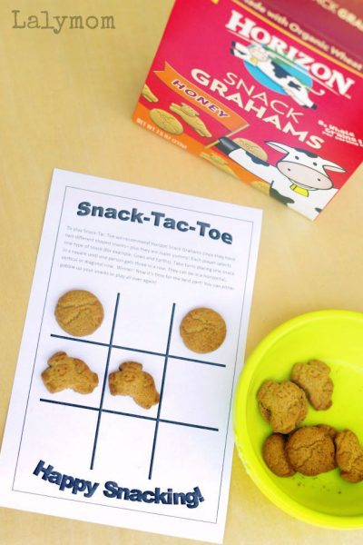 6 Pages of Fun Snack Games – Free Printables!