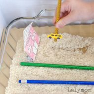 Back to School Sensory Maze