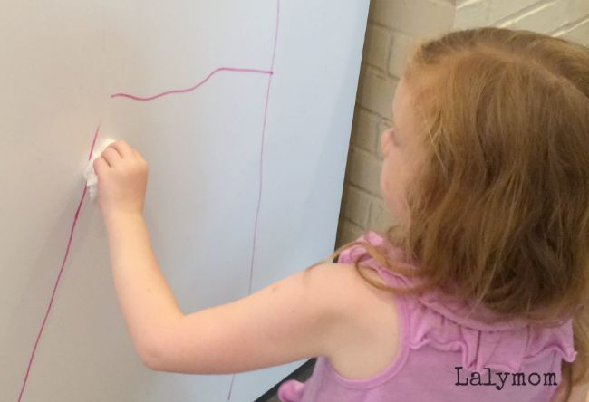 Life Size Alphabet Activities for Kids - Giant ABCs on a Vertical Surface