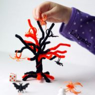 Halloween Topple Tree Math Game