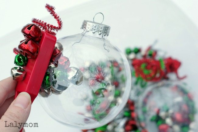 Christmas Sensory Bin for Kids - Fun Jingle Bells Activity combines magnets and music.