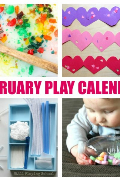 February Activities for Kids – Free Monthly Play Calendar
