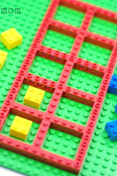 LEGO Math Ten Frame Games