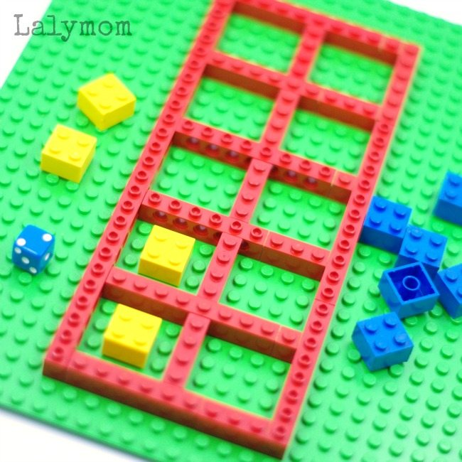 LEGO Math Ten Frame Games - LalyMom