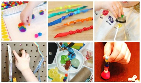 Pincer Grasp Activities for Kids on Fine Motor Fridays